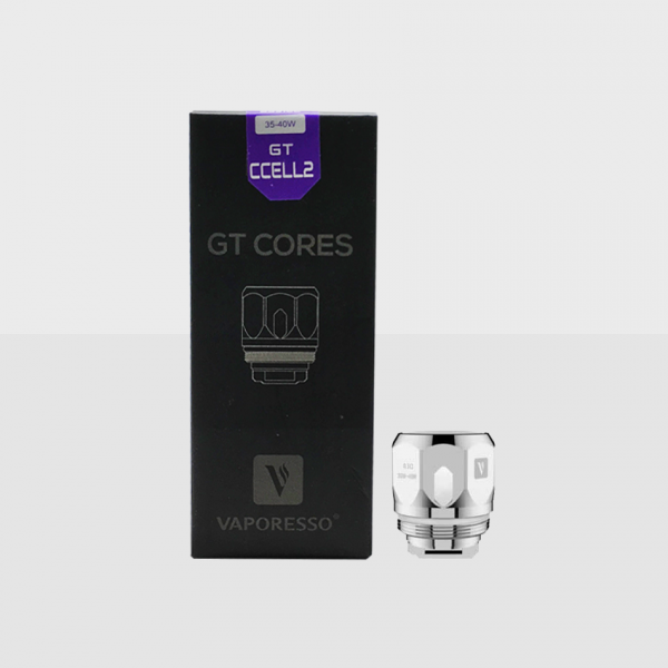 VAPORESSO - GT CORE CCELL 2 COILS 0.3ohm / PACK OF 3
