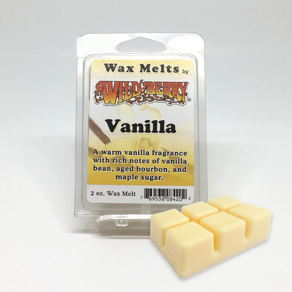 WILD BERRY - VANILLA / WAX MELTS, PACK OF 6