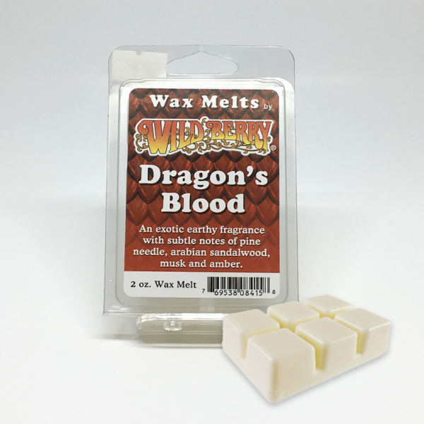 WILD BERRY - DRAGON'S BLOOD / WAX MELTS, PACK OF 6