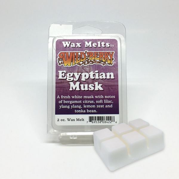 WILD BERRY - EGYPTIAN MUSK / WAX MELTS, PACK OF 6