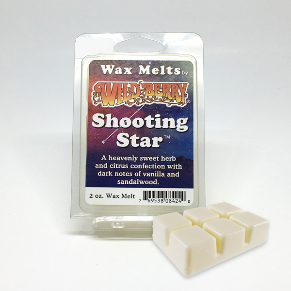 WILD BERRY - SHOOTING STAR WAX MELTS, PACK OF 6
