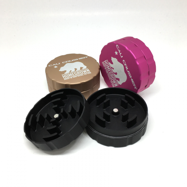 Homegrown by Cali Crusher  2.35 inch 2 Piece Grinder MATTE