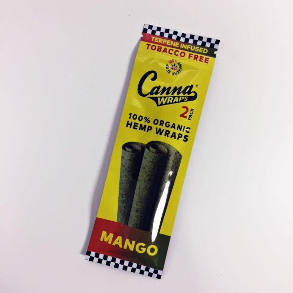 CANNA 100% ORGANIC WRAPS HEMPS - MANGO