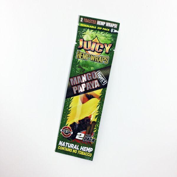 JUICY HEMP WRAPS - MANGO PAPAYA, PACK OF 2